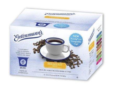 Coffee K Cups - Entenmanns Breakfast Blend - 60 Single Serve Cups