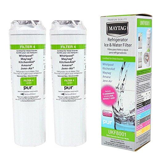 Maytag UKF8001 Filter 4 Refrigerator Water Filter Set of 2