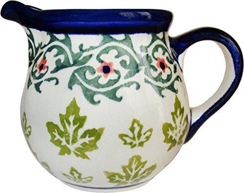 Polish Pottery Creamer Pitcher - Evas Collection Vermont