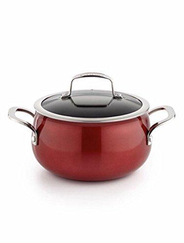 Belgique 3qt Soup Pot With Lid Red