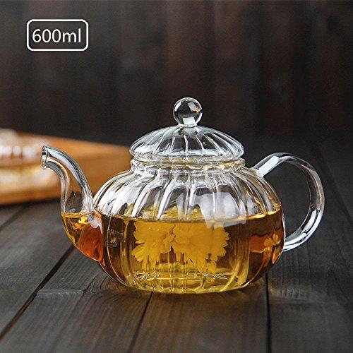 ChSukho 600ml borosilicate glass heat-resistant teapot  kung fu teapot  retro teapot  electric ceramic heating stove