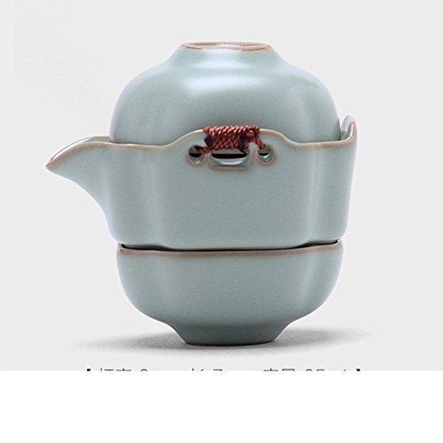 teacup1 hu2cuptravel tea set heat-resistant teapot cupquick guest cup-A