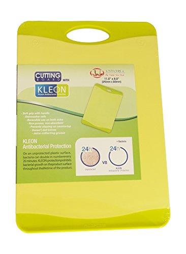 Microban Antimicrobial Cutting Board Lime Green - 11.5x8 Inch