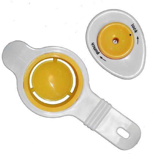 Egg Piercer & Egg Separator Kitchen Combo Set