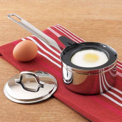 Endurance Nonstick Stainless Steel 1 Egg Poacher Set