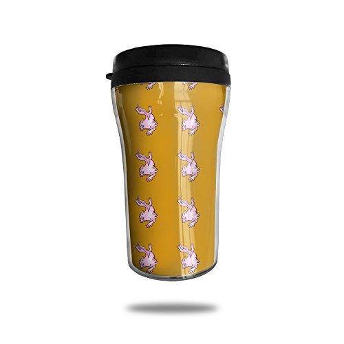 New Fashion 85oz Coffee Mugs Creeping Axolotl Thermal Mug Cute Small Tea Cups Coffee Portable Exquisite Novelty