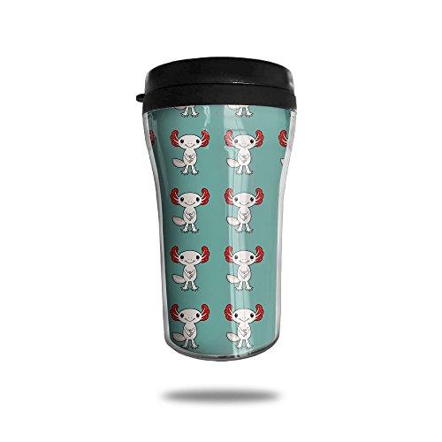New Fashion 85oz Coffee Mugs Cute Axolotl Thermal Mug Cute Small Coffee Mugs Morning Portable Exquisite Novelty