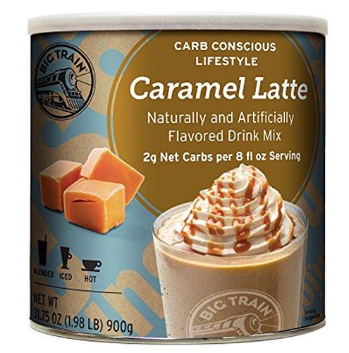 Big Train Carb Conscious Coffee Caramel Latte 198 Pound