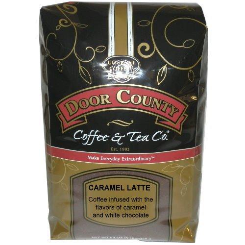 Door County Coffee 5 lb Bag Caramel Latte Ground