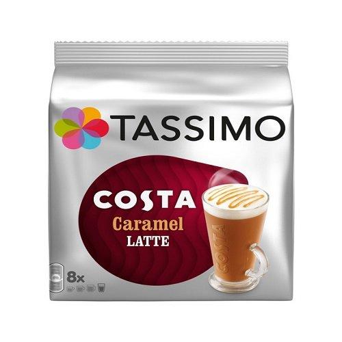 Tassimo Costa Caramel Latte 16 discs 8 servings