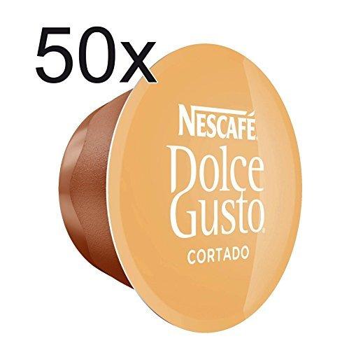 50 X Nescafé Dolce Gusto Cortado Espresso Macchiato 50 Capsules
