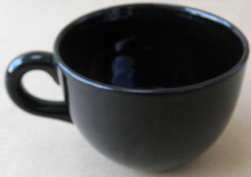 Black Jumbo Coffee Cup Mug
