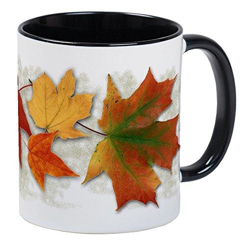 CafePress - Maple Leaves In Autumn Mug - Unique Coffee Mug Coffee Cup