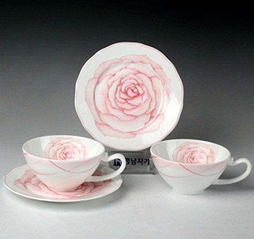 SSBY Ceramic Coffee Set Home Utility Afternoon Tea Set Coffee Cup Set
