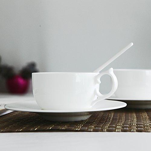 Bone China coffee set ceramic milk Cup breakfast Cup