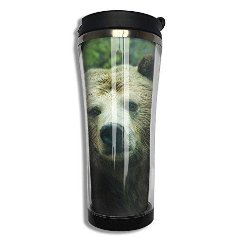 Original Stainless Steel Thermal Cup Brown Bear Ursa Minor Large Capacity Travel Mug Portable Coffee Glass