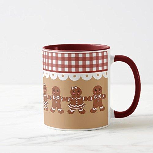 Gingerbread Christmas Holiday Coffee Mug