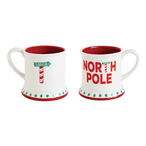 North Pole Christmas Holiday Coffee Mug