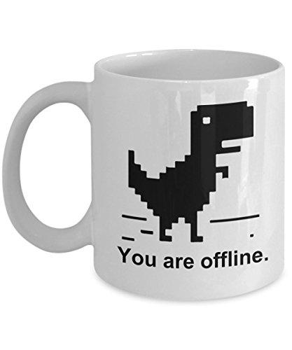 Geek Coffee Mug - Nerdy Programmer Coding Computer Designer Web Developer Funny Tea Cup Ceramic 11oz
