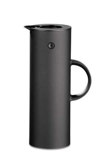 Stelton EM77 Vacuum Jug 338 oz soft black