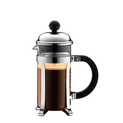 Bodum 1923-16US4 Chambord French Press Coffee and Tea Maker 12 Oz Chrome