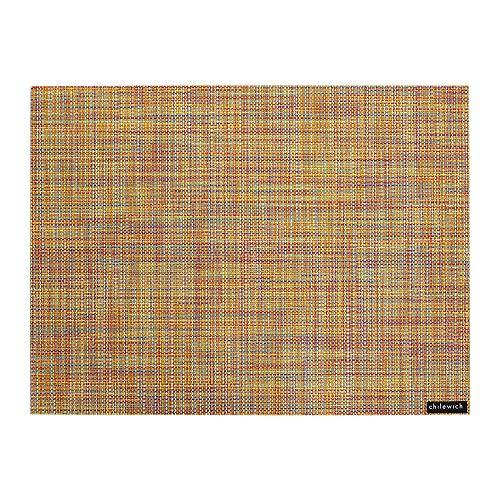 Mini Basketweave Rectangle Placemat - Confetti