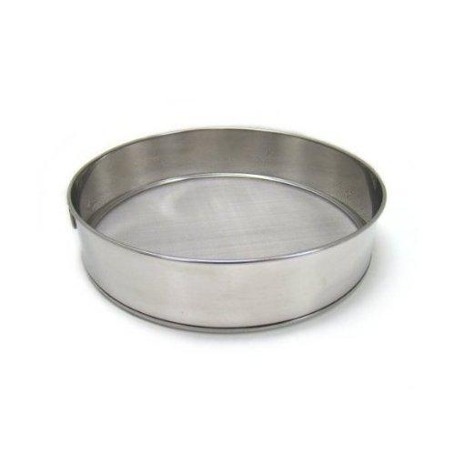 "Fine Mesh Flour Sifter - Stainless Steel - 10"" Diameter (1, A)"