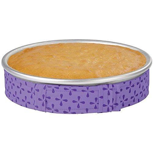 Websad_Nice Cake Pan Strips Bake Even Strip Belt Bake Even Moist Level Cake Baking Tool 2pcs
