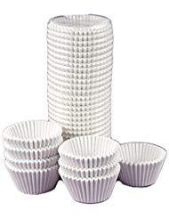 Sweet Craft Premiun White Paper Baking Cup Standard SizeCupcake PaperCup Liners  500 Pack