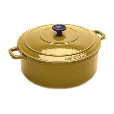 Cast Iron 3 12-Qt Oval Dutch Oven Color Yellow