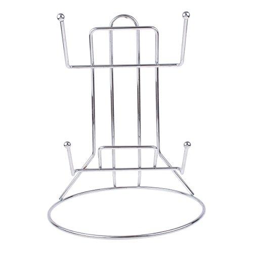 Kmise Stainless Steel Kitchen Shelve Pot Lid Frame Rack Rest Holders for Home Restaurant 1 Pcs