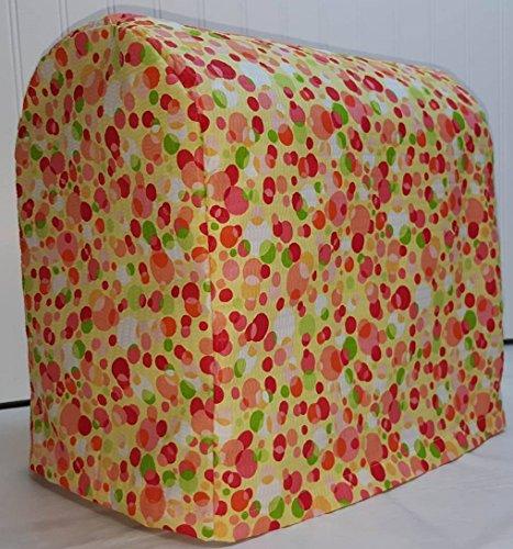 Orange Yellow Polka Dots Kitchenaid Tilt Head Stand Mixer Cover All Polka Dots