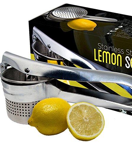 Stainless Steel Lemon Squeezer And Lime Juicer - Premium Quality Lemon Juice Press