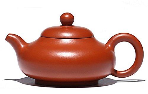 Yu Ru Hu Chinese Yixing Handmade Pure Clay Zisha Tea Pot 20 Years Old Zhu Ni Teapot 150cc