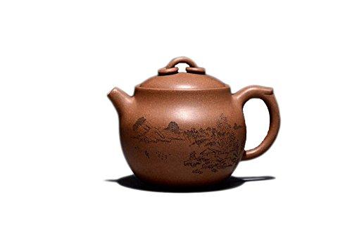 Chinese Yixing Pure Clay National Grade Zisha Teapot Huang Duan Ni Chanzhong Hu Tea Pot 330ml