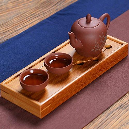 Chinese Yixing Red Clay Handmade Shipiao Tea Pot Zisha Teapot with 2 Cups 2 with tray