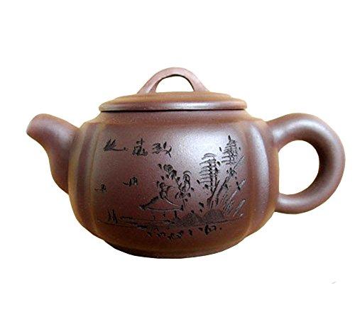 Teapot 220ml Yixing Qingshui Zisha tea pots handmade