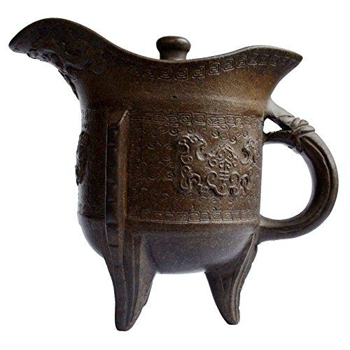Yixing Teapot 6oz Vintage Zisha Tea Pots Chinese Dragon Classic