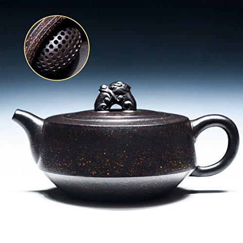 ZEETOON 160cc Yixing Teapot Authentic Purple Clay Master Handmade China Health Care Kung Fu Tea Set Zisha Puer Black Tea Ruishou Pot New