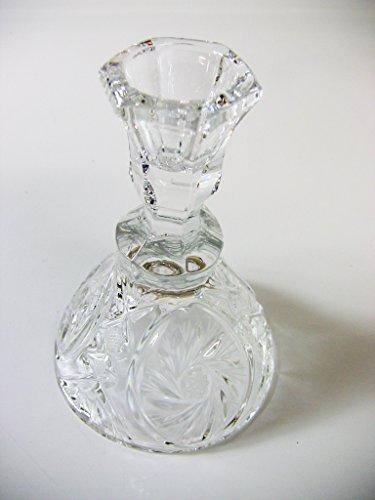 Crystal Glass Candlestick Holder