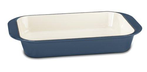 Cuisinart Ci1136-24bg Chef's Classic Enameled Cast Iron 14-inch Roasting/lasagna Pan, Provencal Blue