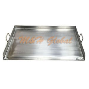 Heavy Duty Stainless Steel 36x 22 FLAP TOP GRIDDLE Grill over triple burner