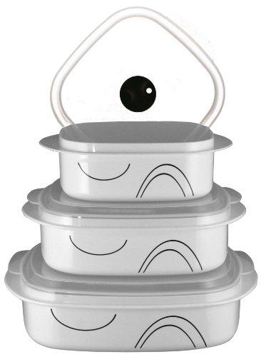 Corelle Coordinates Simple Lines 6-piece Microwave Cookware Set