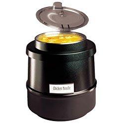 Tomlinson 1014759 Black 12 Qt Frontier II Soup Kettle