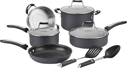 Cuisinart Pro Classic 10-piece Hard Anodized Cookware Set Hw62-10