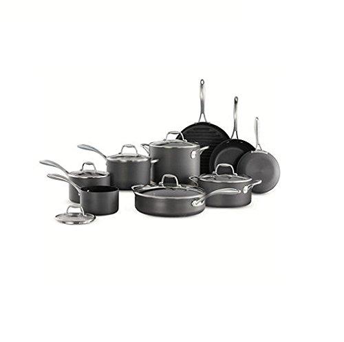 Tramontina 15-Piece Hard Anodized Cookware Set