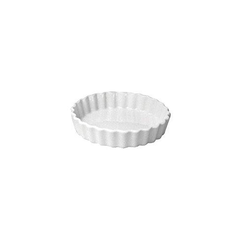 Hall China 863-WH White 5 Oz Round Fluted Creme Brulee Dish - 24  CS