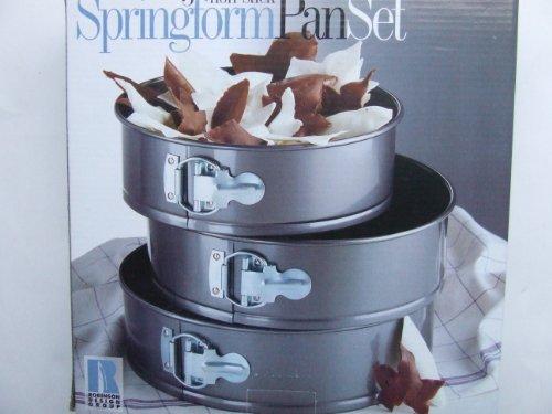 Robinson 3 Non-Stick Springform Pan Set