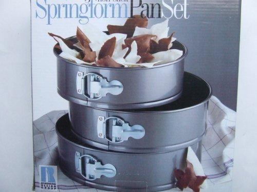 Robinson 3 Non-Stick Springform Pan Set by Robinson