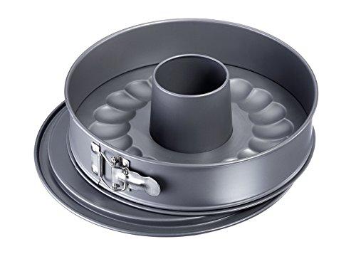 Westmark 33692260 Nonstick Springform Pan Set with Leak Proof 2 Bases 11 Gray